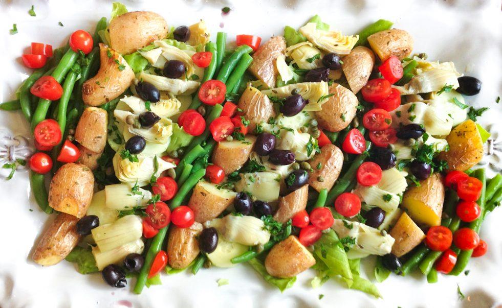 photo of salade niçoise