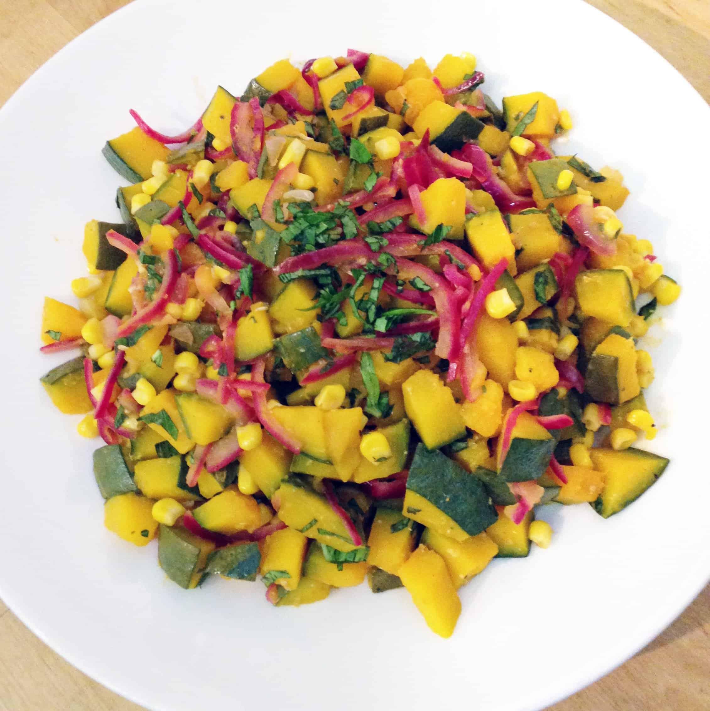 Winter Squash Salad