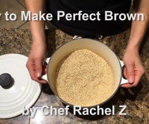 Delicious Macrobiotic Brown Rice