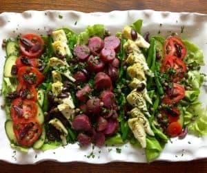 Salade Niçoise with Dijon Vinaigrette