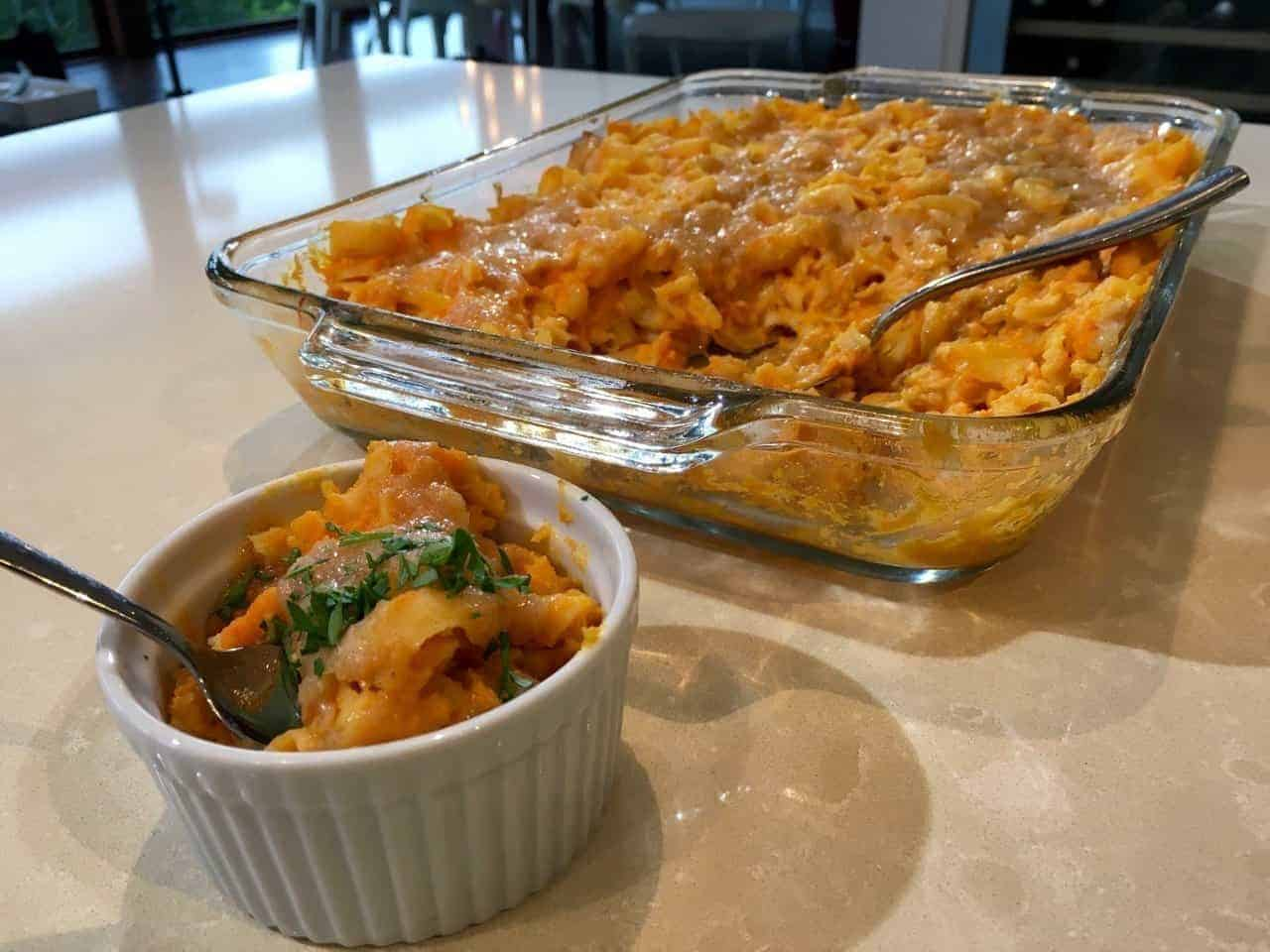 vegan, gluten free, macaroni and cheese