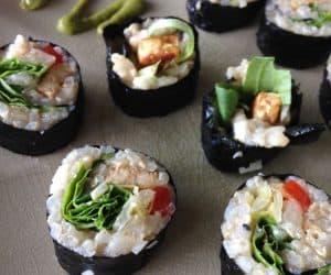 White Sushi Rice