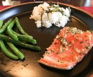 Maple Roasted Wild Caught Salmon with Fresh Rosemary