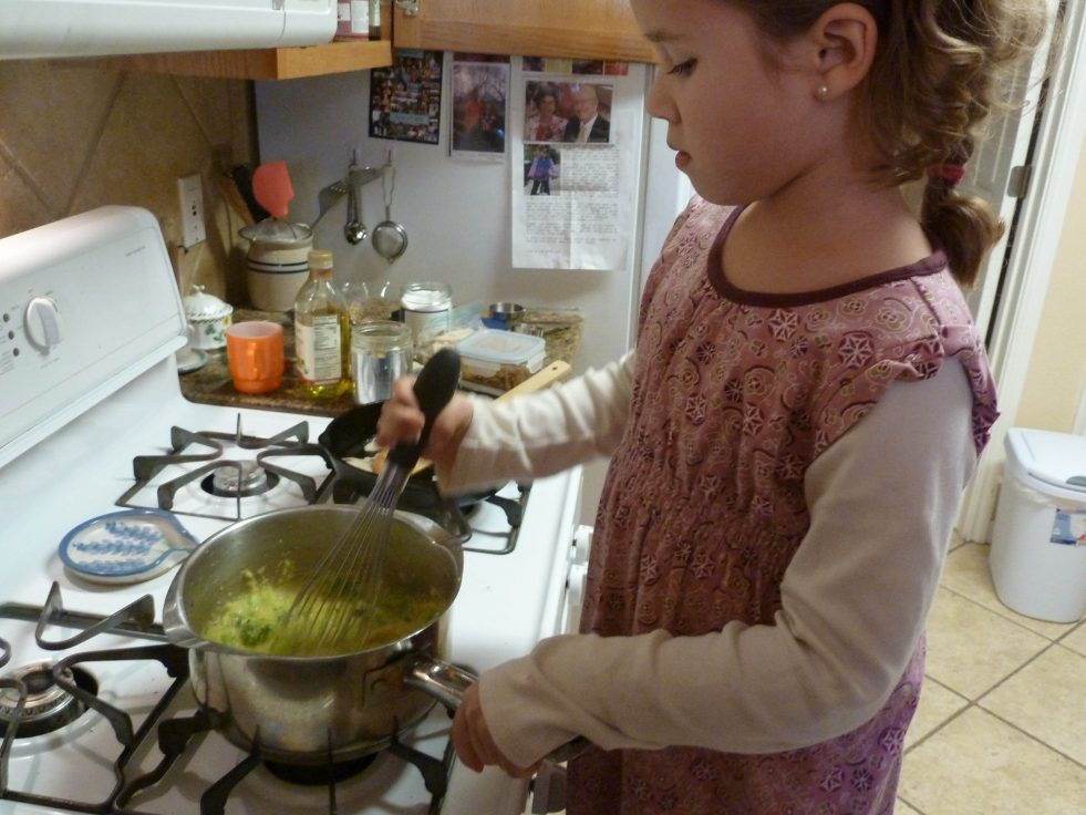 polenta-broccoli
