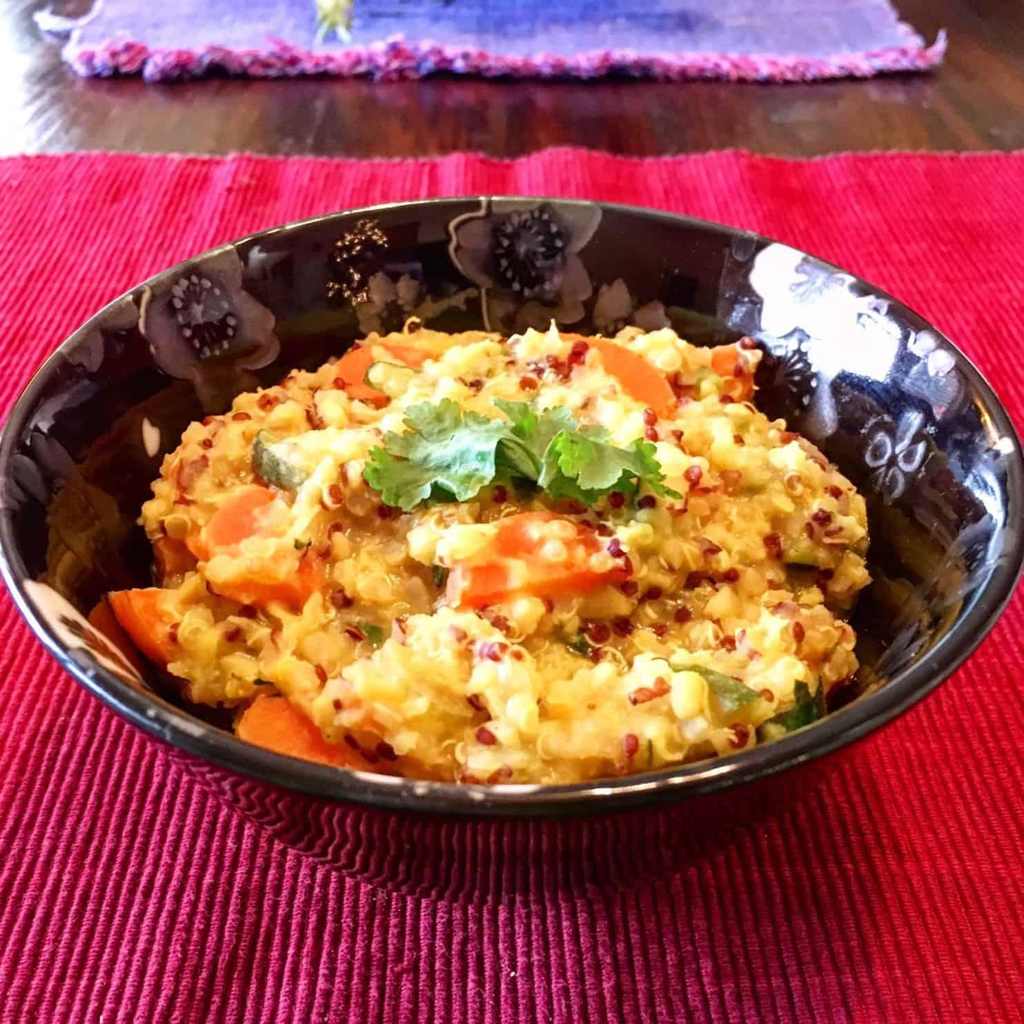 quinoa kitchadi