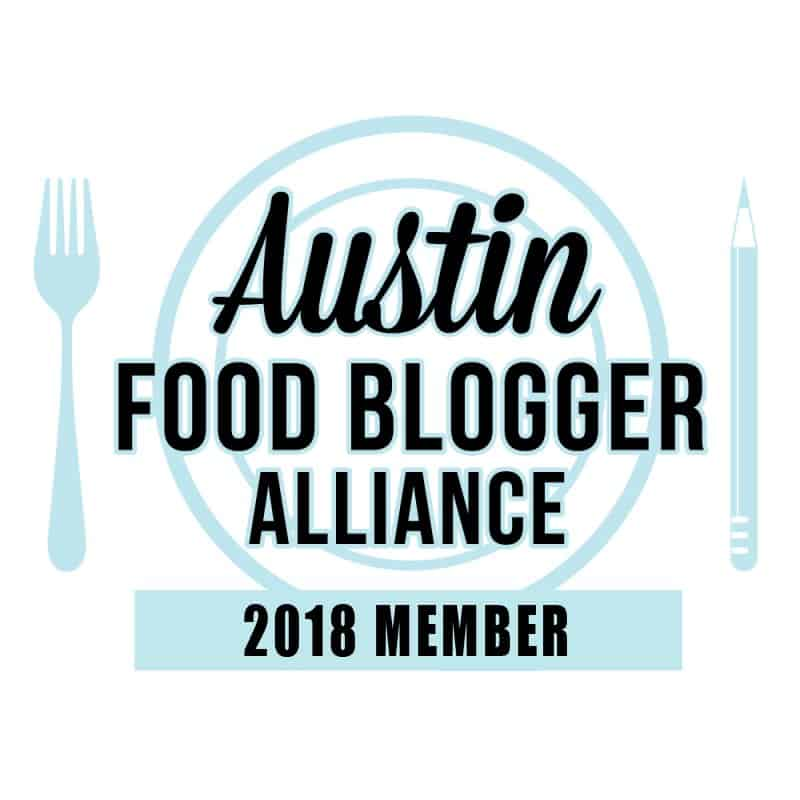 Austin Food Bloggers Alliance Badge