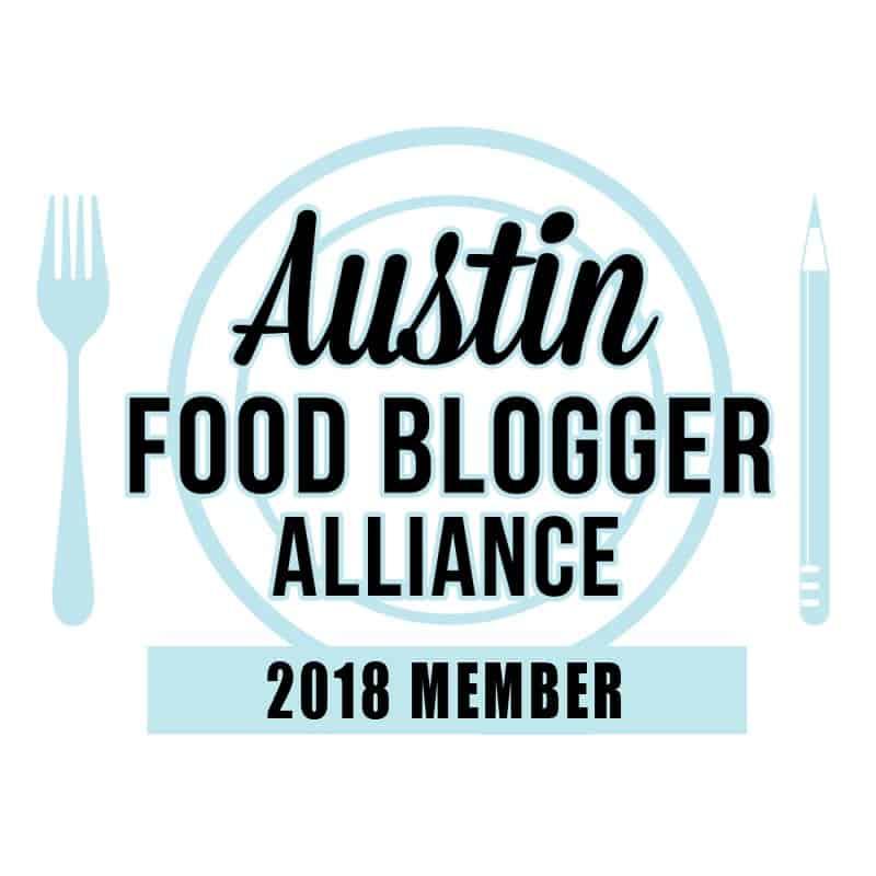 Austin Food Bloggers Alliance Badge