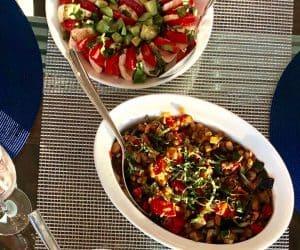 Caponata (Sicilian-style summer vegetables)