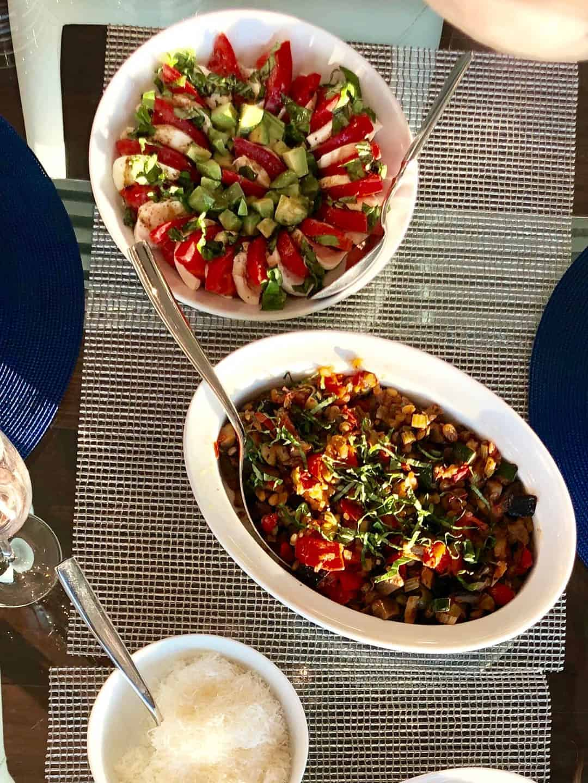 Photo of eggplant dish caponata