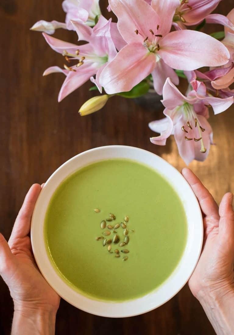 Creamy Broccoil Soup • Cook Love Heal with Rachel Zierzow